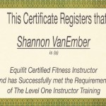 Congratulations to Shannon vanEmber!